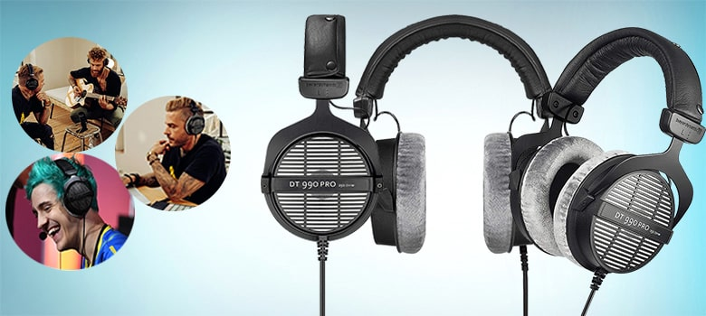 Beyerdynamic 459038 DT 990 PRO open Studio Headphone