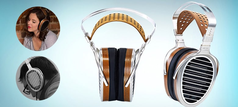 HIFIMAN HE1000 Over Ear Planar Magnetic Headphone