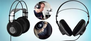 Best Open Back Headphones Under $200 - AKG Pro Audio K612 PRO Over-Ear, Open-Back