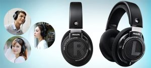 Philips Audio Philips SHP9500 HiFi Precision Stereo Over-Ear Headphones