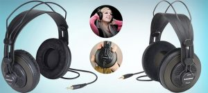 Samson Technologies SR850 best semi open back headphones