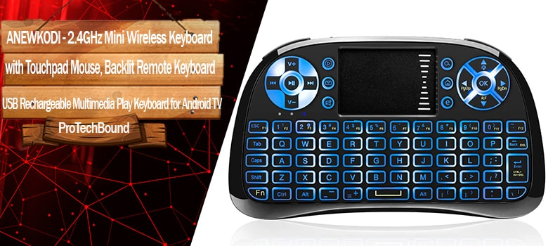 best wireless keyboard For Smart TV and Samsung tvs