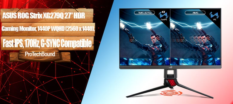 "ASUS ROG Strix XG279Q 27"" HDR Gaming Monitor"