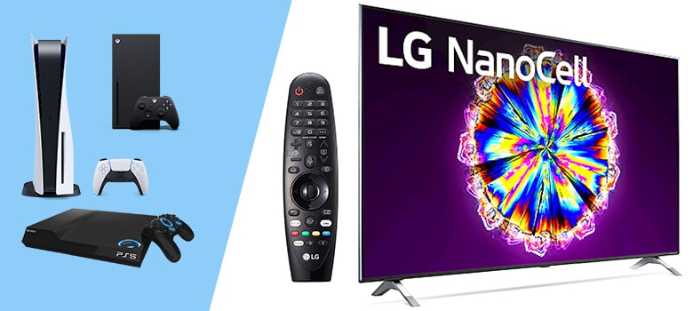 LG 55NANO90UNA - 4K Smart UHD – Best Budget TV for PS5 and Xbox Series X also others consoles