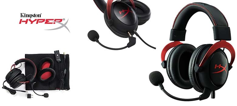 HyperX Cloud 2 - Gaming Headset, 7.1 Surround Sound best for Call Of Duty - Warzone