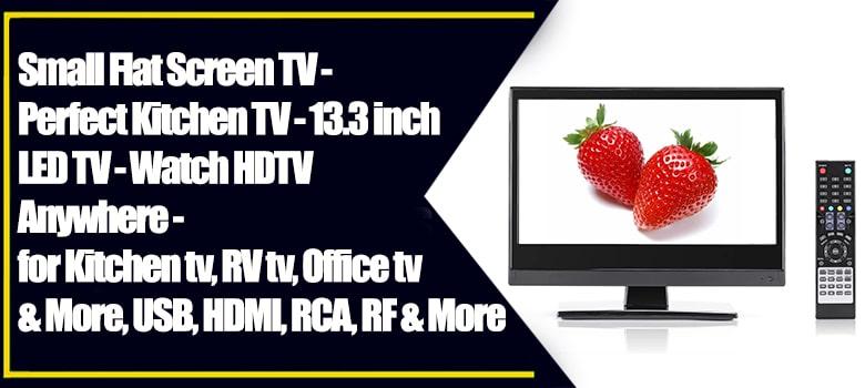 Perfect Kitchen TV | Small Flat Screen TV - Best Small HD TV