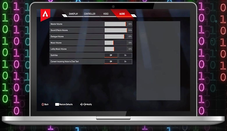 Best Audio Settings for Apex Legends